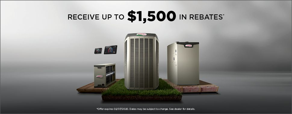 Receive up to $1,500 in rebates!