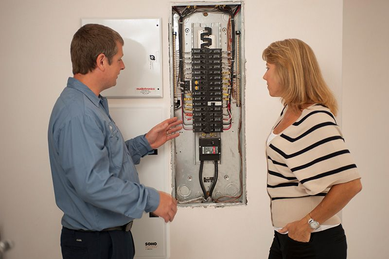changing a fuse box to circuit breaker